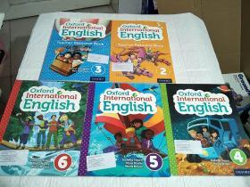 Oxford International English (Teacher Resource Book )(2、3带光盘)(4、5、6)共五本合售