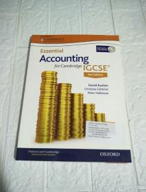Essential Accounting  for Cambridge IGCSE 2nd Edition (附光盘)