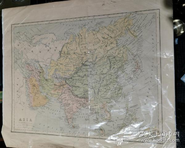 19世纪英国出版中国地图