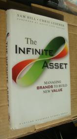 The infinite asset: managing brands to build new value  英文原版 布面精装+书就16开