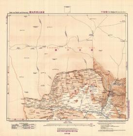 1907年《张家口老地图》图题为《张家口》(原图高清复制)(张家口市老地图、张家口市地图、张家口地图、万全老地图、万全县老地图、万全县地图)1907年德国陆军参谋处绘制,史料价值研究高。原件现藏国外,原图高清复制。十分清晰。裱框后,风貌佳。张家口县地理地名历史变迁重要地图史料。