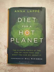 DIET FOR A HOT PLANET(炎热星球的饮食)英文 精装