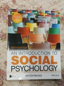 现货 An Introduction to Social Psychology (BPS Textbooks in Psychology) 英文原版 社会心理学导论