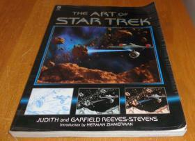 2手英文平装 The Art of Star Trek 星际迷航设定