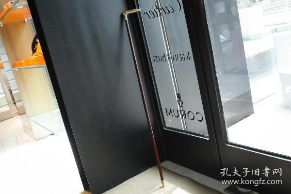 【法国 800银古董文明杖手杖】