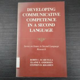 DEVELOPING COMMUNICATIVE COMPETENCE IN A SECOND LANGUAGE