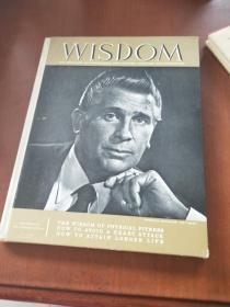 WISDOM: THE MAGAZINE OF KNOWLEDGE FOR LIFETIME LEARNING AND EDUCATION(精装,尺寸34cm *26cm)