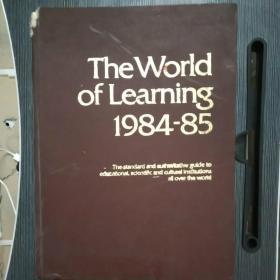 The World of Learning 1984-85