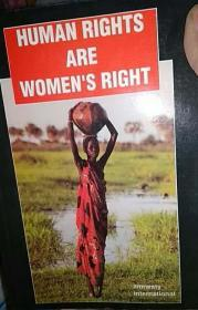 英文原版 Human Rights Are Womens Right