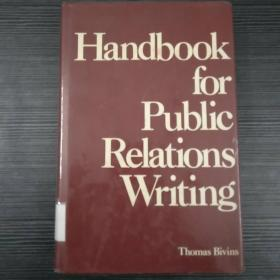 Handbook for Public Relations Writing