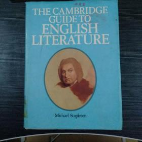 THE CAMBRISGE GUIDE TO ENGLISH LITERATURE