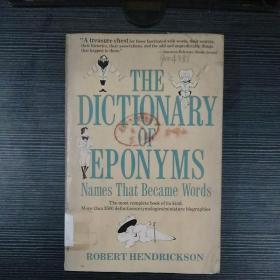 THE DICTIONARY OF EPONYMS