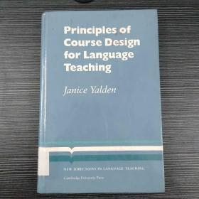 Principle of Course Desing for Language Teaching