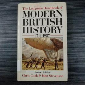 The Longman handbook of modern British history 1714-1987