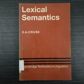 LEXICAL SEMANTICS