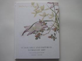 Sotheby's  HONG KONG SCHOLARLY and IMPERTAL WORKS of ART  2019.4