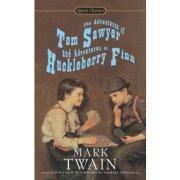 英文原版  汤姆索亚哈克贝利费恩历险记 Signet Classics The Adventures of Tom Sawyer and Adventures of Huckleberry