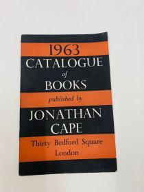 1963 JONATHAN CAPE  Thirty Bedford Square London1963[1963年JONATHAN CAPE三十贝德福德广场伦敦1963年
