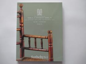 Sotheby's NWE YORK THE COLLECTION OF ANNE H.& FREDERICK VOGEL  III VOLUME ONE 2019.1