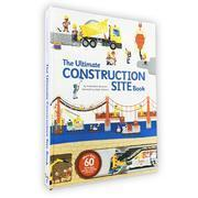 好忙好忙的大工地 英文原版 The Ultimate Construction Site Book 大纸板翻翻书