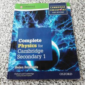 Complete Physics For Cambridge Secondary 1 Student Book: Thorough Preparation For Cambridge