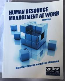 human resource management at work (5th edition)
