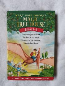 Magic Tree House Books #1-4神奇树屋合辑(1-4)