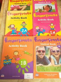 Fingerprints 1A,1B,2A(Student Book + Activity Book)共6册合售
