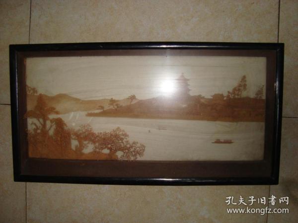 软木画--63厘米*宽33厘米