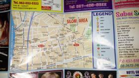 一张最新版泰国曼谷地图(各类联系方式俱全)
