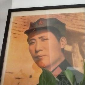 一九三六年毛泽东在陕北