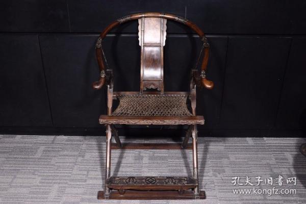 清代: 黄花梨交椅