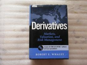 Derivatives, Markets, Valuation, and Risk Management【附光盘1张】精装16开