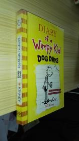 Diary of a Wimpy Kid #4 Dog Days 小屁孩日记4(英文原版)