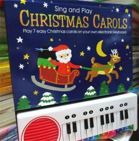 尾单正品 钢琴有声书 sing and play christmas carols 唱歌和玩圣诞颂歌