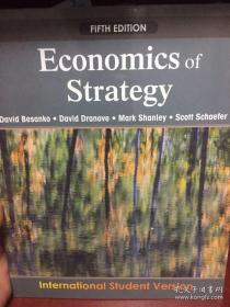 Economics of Strategy。ISBN:9780470484838