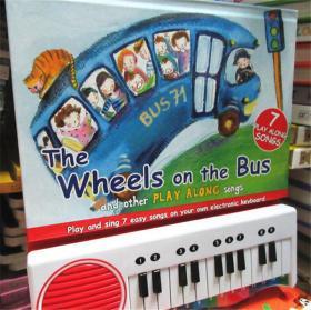 尾单正品 有声书 Piano Book: The Wheels on the Bus 钢琴书:公共汽车上的轮子
