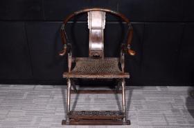清代:黄花梨交椅
