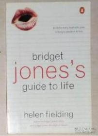 英文原版 Bridget Jones's Guide to Lif by Helen Fielding