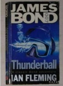 英文原版 James BOND 007 Thunderball by Ivan Fleming