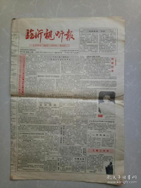 临沂视听报  1991年12月13日