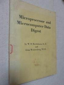 Microprocessor and microcomputer data digest