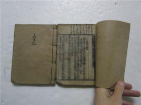 清代小32开木刻线装本《新镌许真君玉匣记增补诸家选择日用通书》卷一至六合两册全