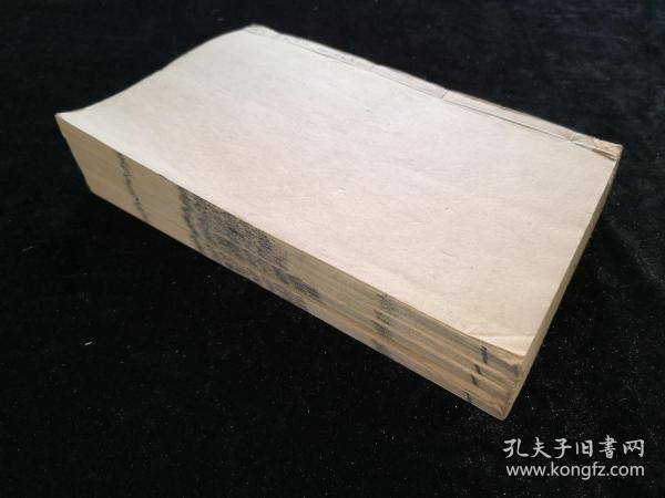 清 湖南著名刻书坊新化三味书局刻 光绪二十三年(1897)《晏子春秋》七卷 4册