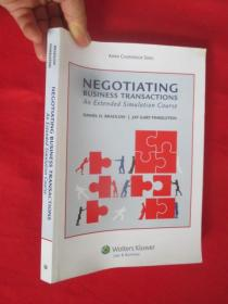 Negotiating Business Transactions: An Extended Simulation Course      (16开)   【详见图】