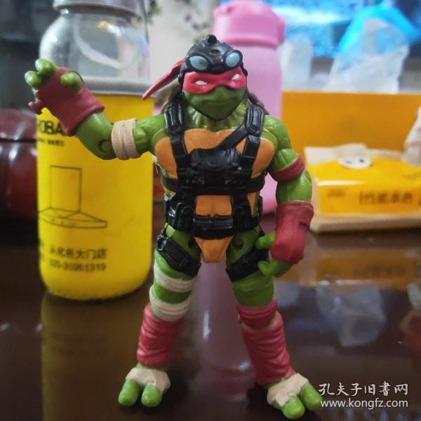 忍者神龟 可动人偶 手办模型