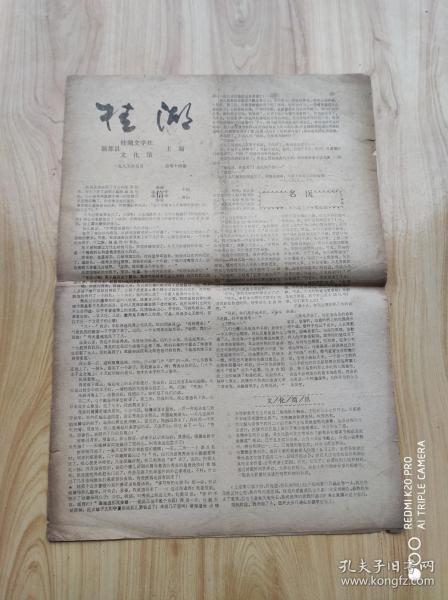 桂  湖   1985年5月  总第十四期