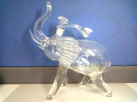 玻璃摆件动物造型摆件