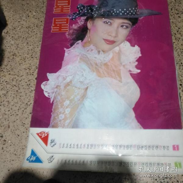 1993/1994星星美女挂历