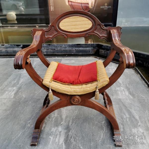 【意大利 文艺复兴时期风格的但丁椅】